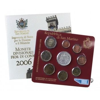 San Marino - 2006 - Divisionale 9 val.