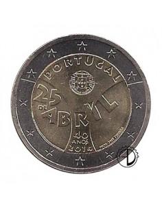 Portogallo - 2014 - 2€ Garofani