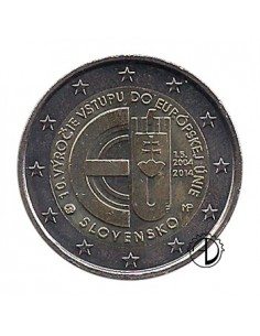 Slovacchia - 2014 - 2€ 10° ingresso UE