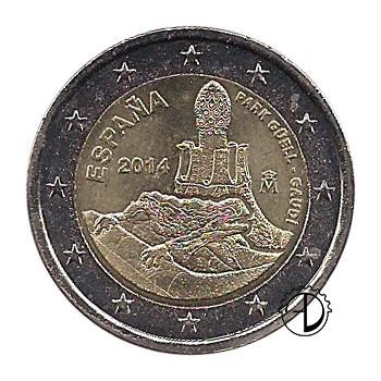 Spagna - 2014 - 2€ Gaudì
