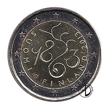Finlandia - 2013 - 2€ Parlamento