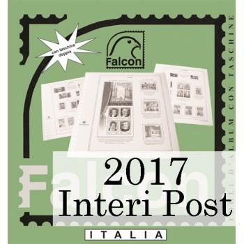 Fogli Italia 2017 Interi Postali - Falcon