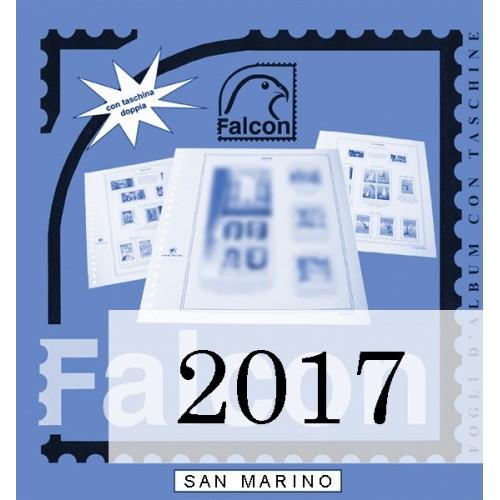 Fogli San Marino 2017 - Falcon