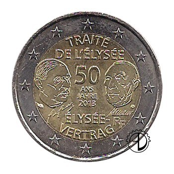 Francia - 2013 - 2€ Eliseo
