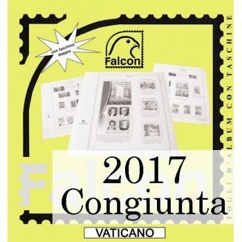 Fogli Vaticano 2017 MF Cong. Lituania - Falcon