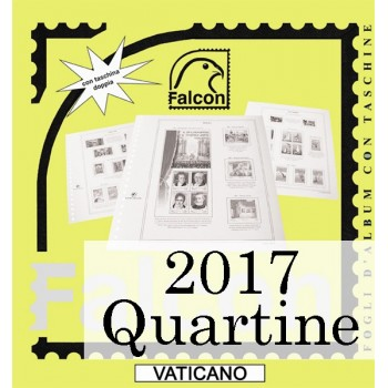 Fogli Vaticano 2017 Quartine - Falcon