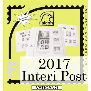 Fogli Vaticano 2017 Interi Postali - Falcon