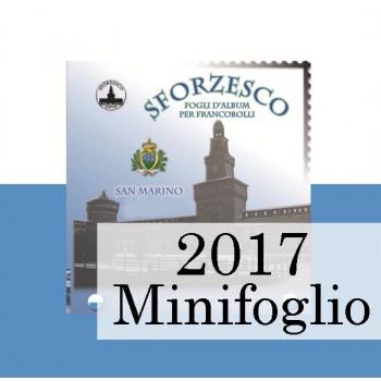 Fogli S. Marino 2017 MF Juventus - Sforzesco