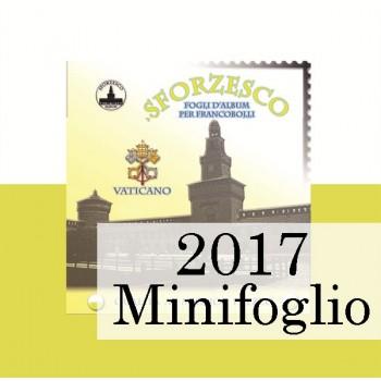Fogli Vaticano 2017 MF Samogizia - Sforzesco