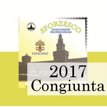 Fogli Vaticano 2017 MF Samogizia Lituania - Sforzesco