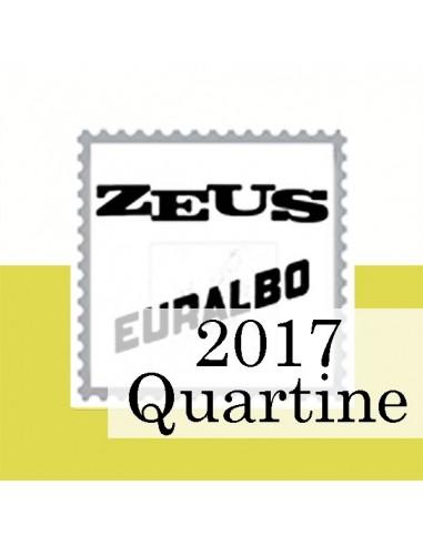 Fogli Vaticano 2017 Quartine - Euralbo