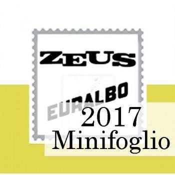 Fogli Vaticano 2017 MF Samogizia - Euralbo