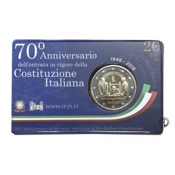 Italia - 2018 - 2€ Costituzione in Blister