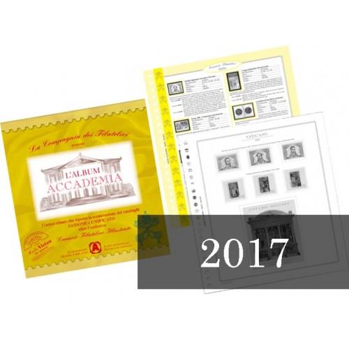 Fogli Vaticano 2017 - Accademia