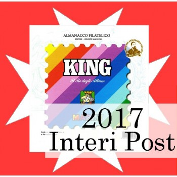 Fogli SMOM 2017 Interi Postali - King