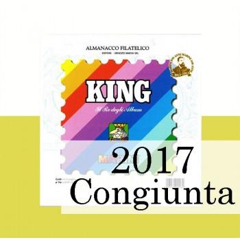 Fogli Vaticano 2017 Congiunte MF - King