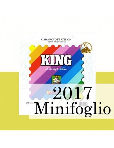 Fogli Vaticano 2017 Minifogli - King