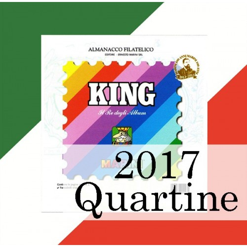 Fogli Italia 2017 Quartine - King