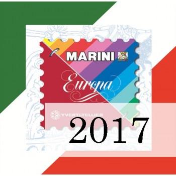 Fogli Italia 2017 - Europa