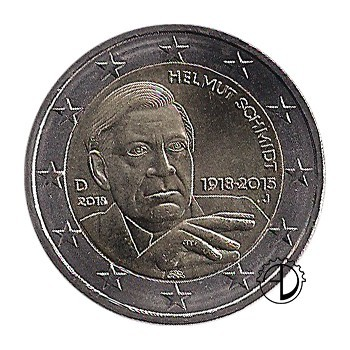 Germania - 2018 - 2€ Schmidt