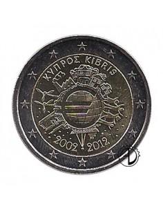 Cipro - 2012 - 2€ Decennale Euro