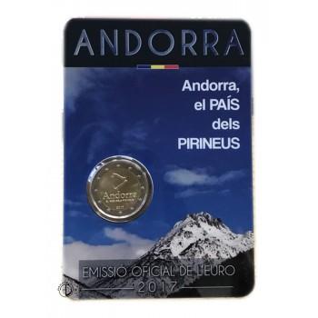 Andorra - 2017 - 2€ Pirenei (in blister)
