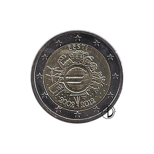 Estonia - 2012 - 2€ Decennale Euro