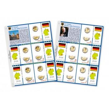 Abafil Fogli 2€ Germania 2018 5zecche