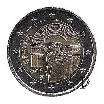 Spagna - 2018 - 2€ Santiago
