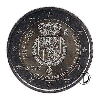 Spagna - 2018 - 2€ Re Filippo VI