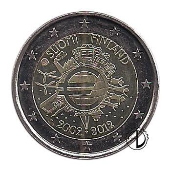 Finlandia - 2012 - 2€ Decennale Euro