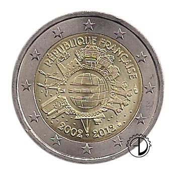 Francia - 2012 - 2€ Decennale Euro