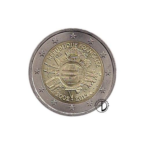 3bf1b5a683 Francia - 2012 - 2€ Decennale Euro