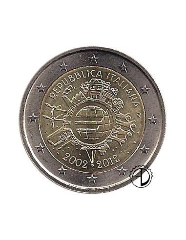 Italia - 2012 - 2€ Decennale Euro