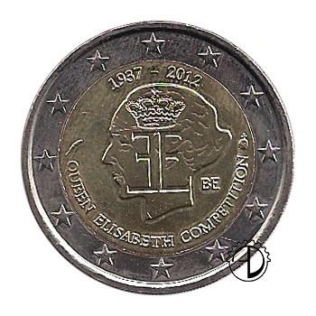 Belgio - 2012 - 2€ Competizione Musicale