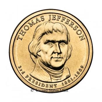 USA $ 2007 Presidente Jefferson