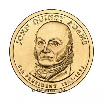 USA $ 2008 Presidente Adams Q.