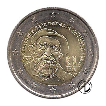 Francia - 2012 - 2€ Abbé Pierre