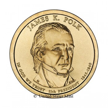 USA $ 2009 Presidente Polk