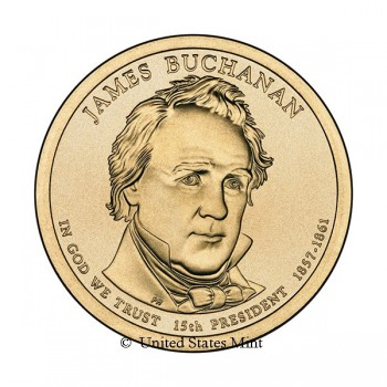 USA $ 2010 Presidente Buchanan