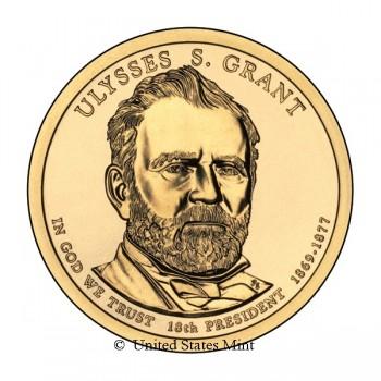USA $ 2011 Presidente Grant