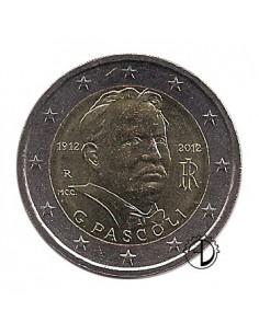 Italia - 2012 - 2€ Pascoli