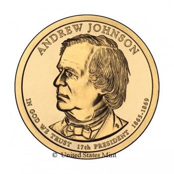 USA $ 2011 Presidente Johnson
