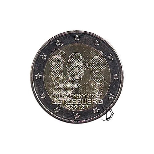Lussemburgo - 2012 - 2€ Matrimonio