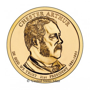 USA $ 2012 Presidente Arthur
