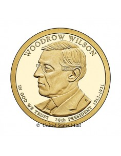 USA $ 2013 Presidente Wilson