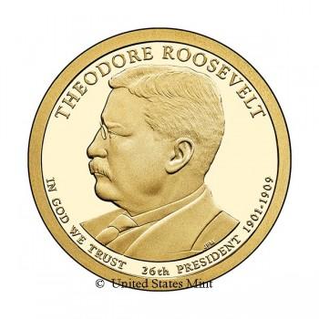 USA $ 2013 Presidente Roosevelt