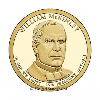 USA $ 2013 Presidente McKinley