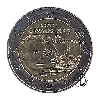 Lussemburgo - 2012 - 2€ Guglielmo IV