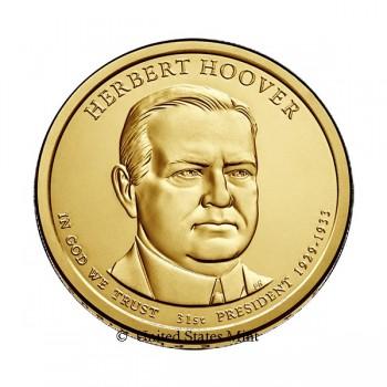 USA $ 2014 Presidente Hoover